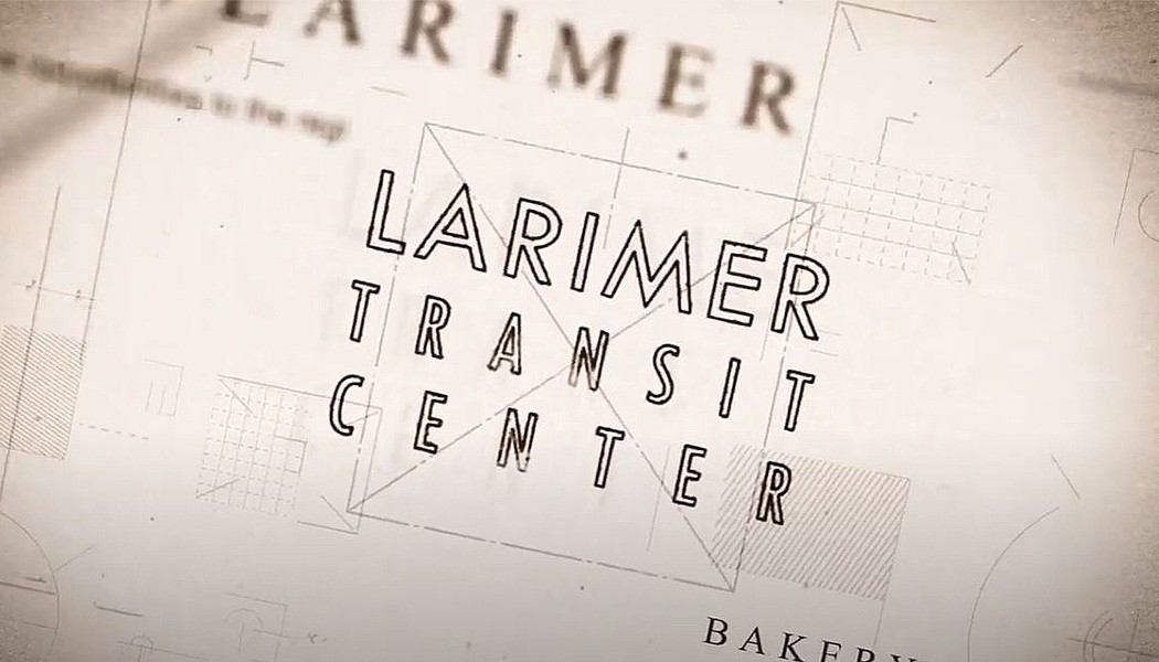 Larimer Transit Center at Bakery Square